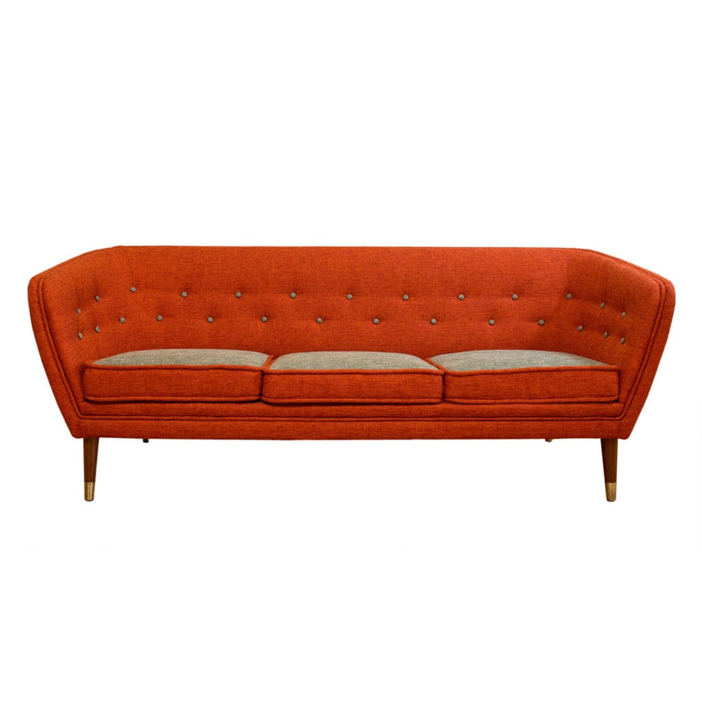 Very rare P. I. Langlo sofa