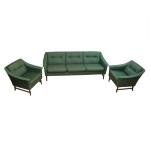 Set sofa and armchairs designed by Bruksbo, Norway