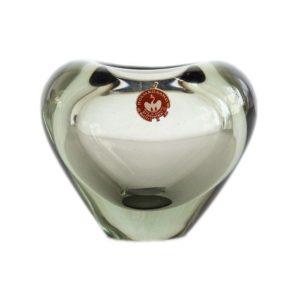 Smoky Menuet vase by Per Lütken