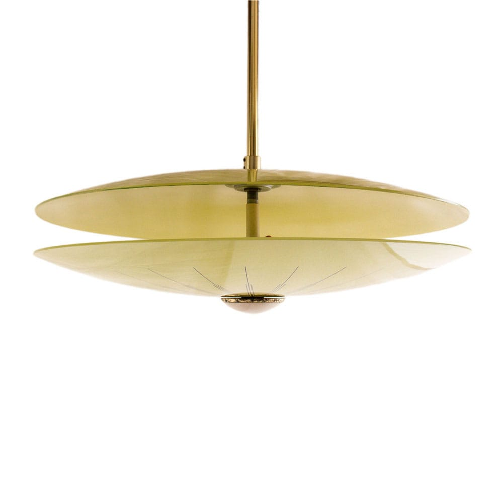 Space Age UFO ceiling lamp made in Germany