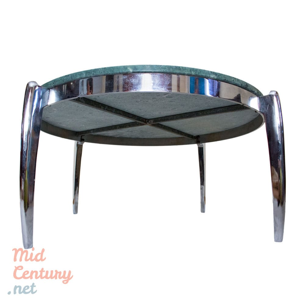 Marble And Steel Coffee Table: Spectacular Coffee Table Made Of Marble And Stainless