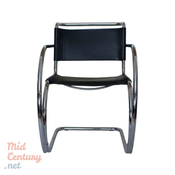 """Set of 4 """"MR"""" armchairs by Ludwig Mies van der Rohe"""