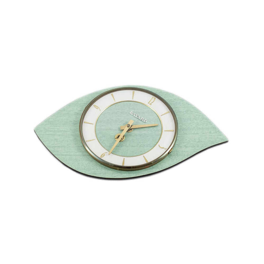 Bayard ceramic wall clock made in France