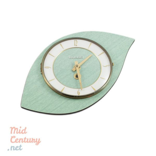 Bayard ceramic wall clock made in France