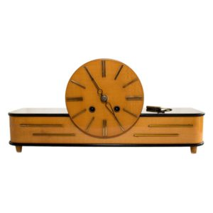 Elegant Art Deco mantel clock