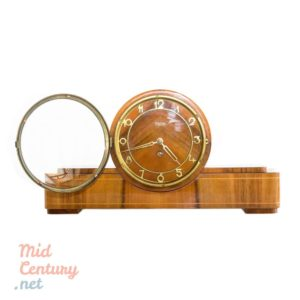 Beautiful Mom mantel clock in wooden case