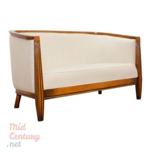 Elegant Art Deco Sofa made in the 1970s