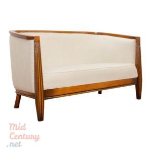 Elegant Art Deco Sofa made in the 1970s