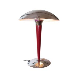 Paquebot table lamp made in France, in the 1980s