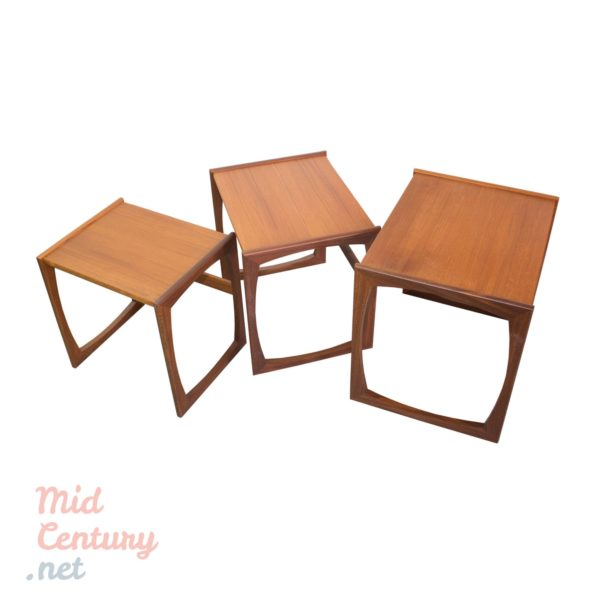 Set of 3 nesting tables made by G-Plan in the 1960s