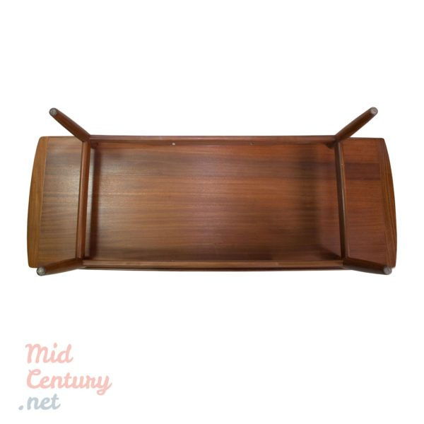 Danish teak coffee table made in the 1960s