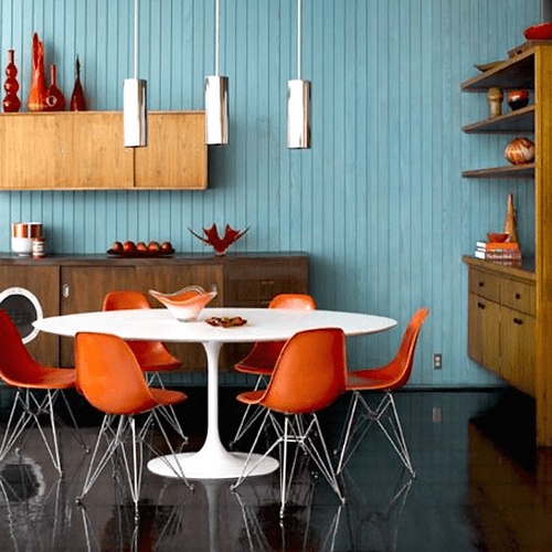 Vivid Joyful Colors Mid-Century
