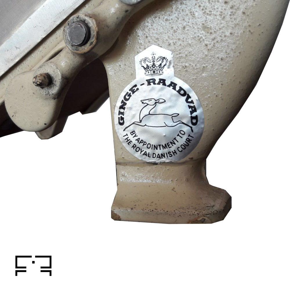 Raadvad slicer model 294 made in Denmark in the 1960s