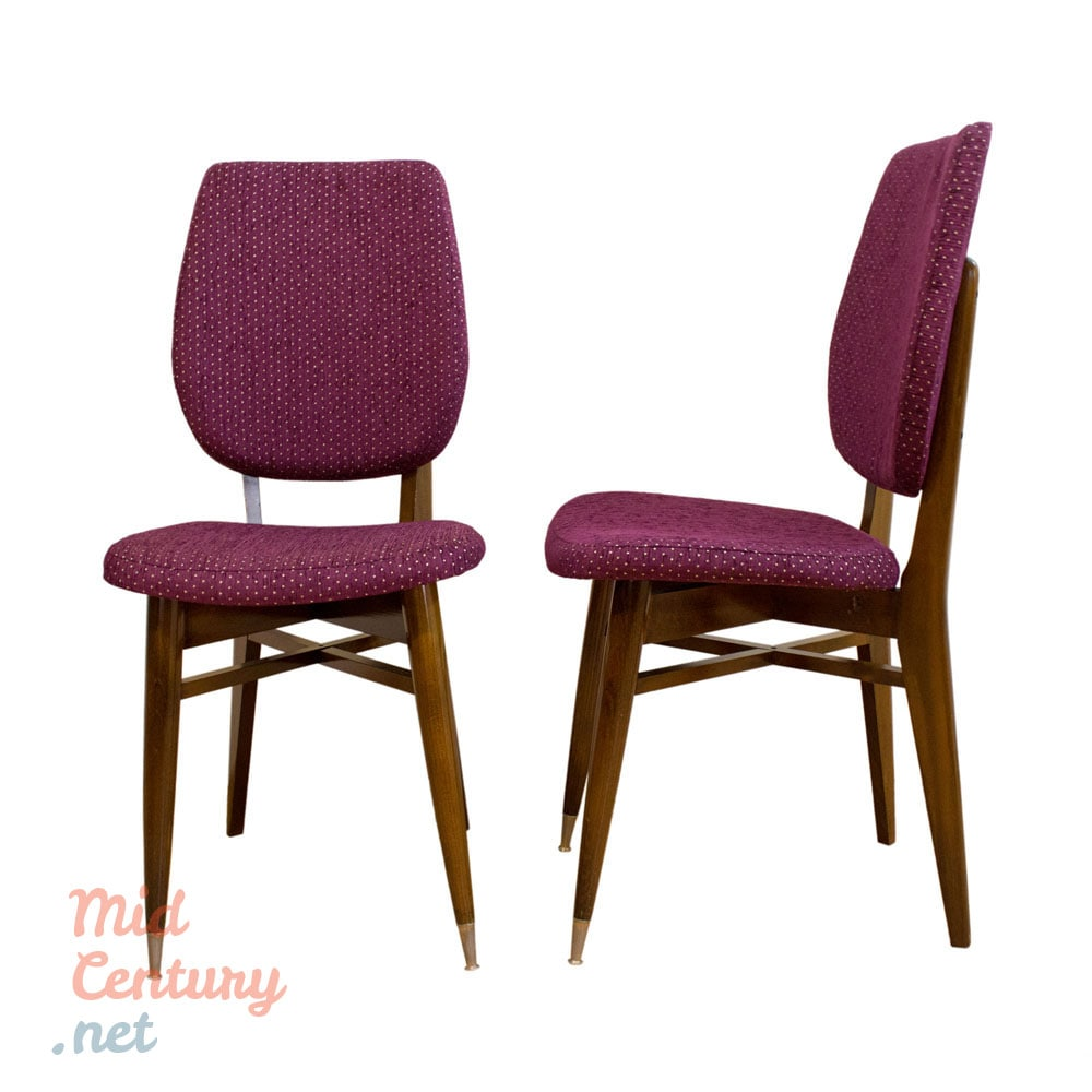 Pair of chairs manufactured in France