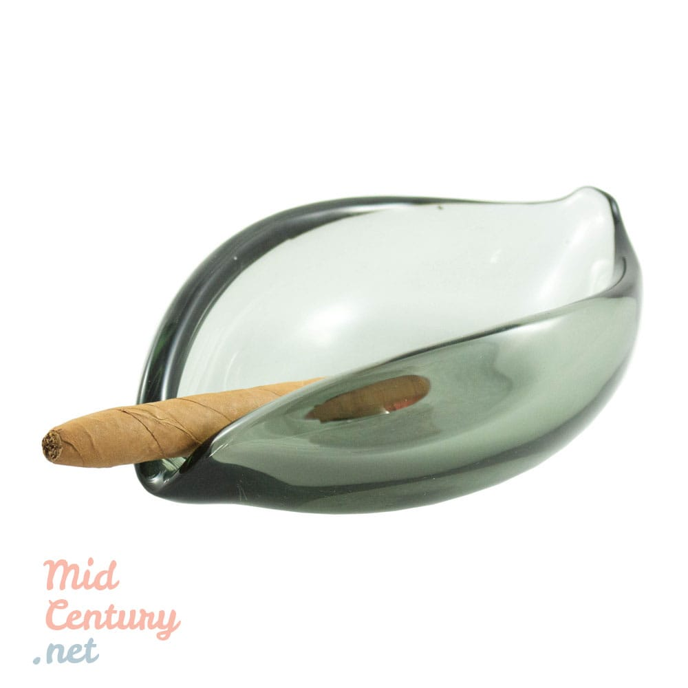 Beautiful smoky ashtray by Per Lütken