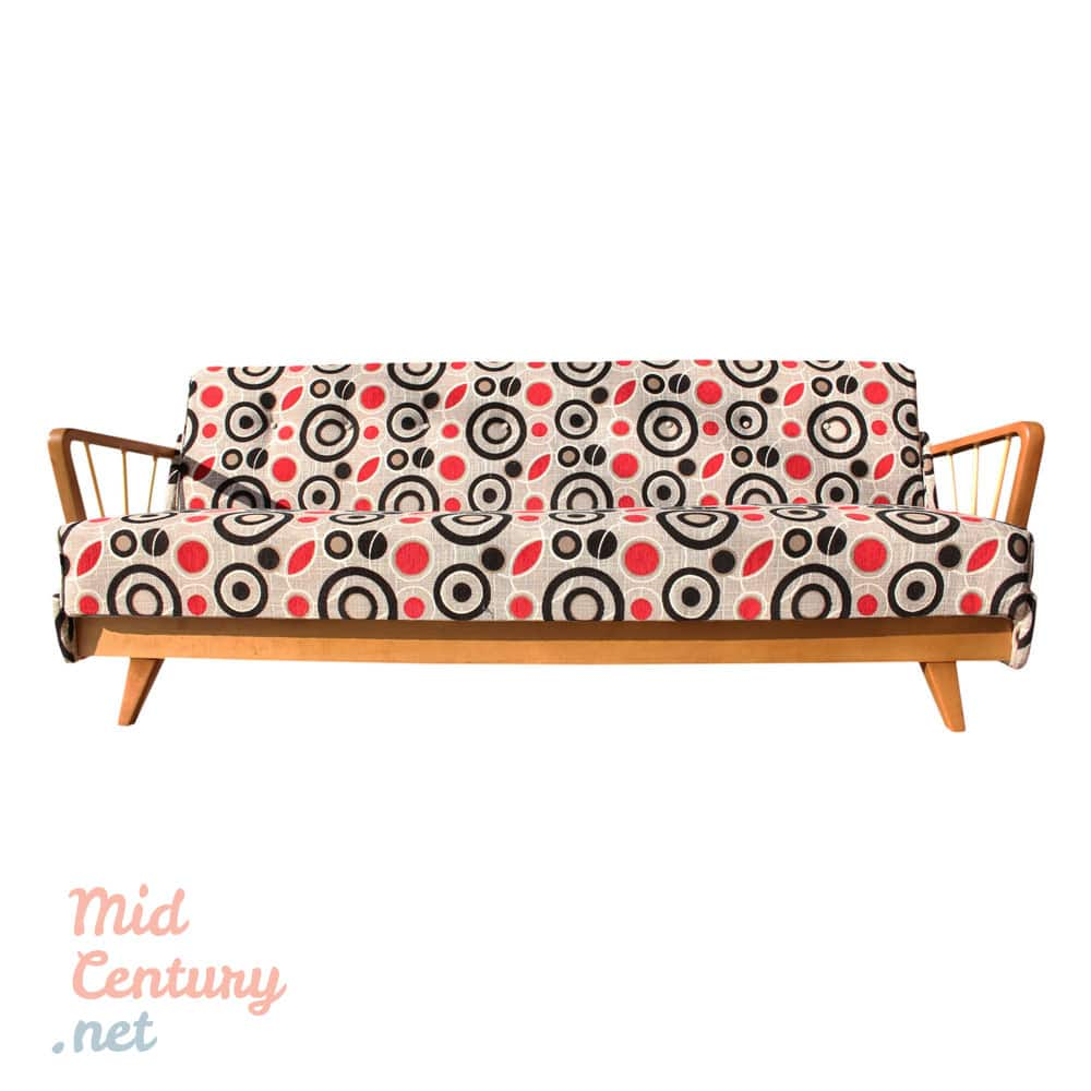 Beautiful sofa made in Germany in the 1950s