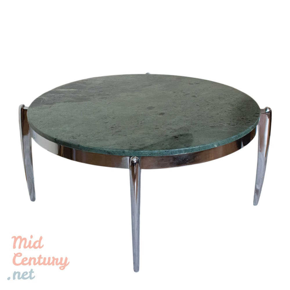 Spectacular coffee table made of marble and