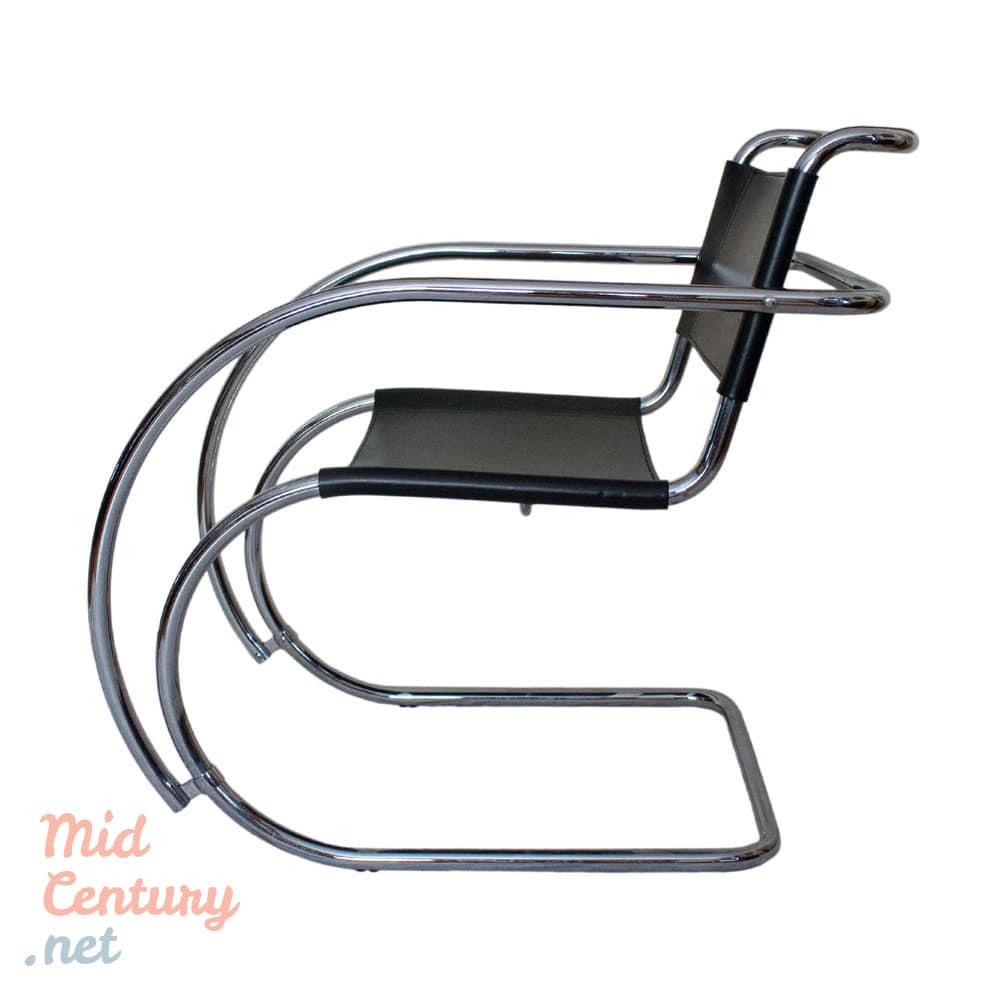 "Set of 4 ""MR"" armchairs by Ludwig Mies van der Rohe"