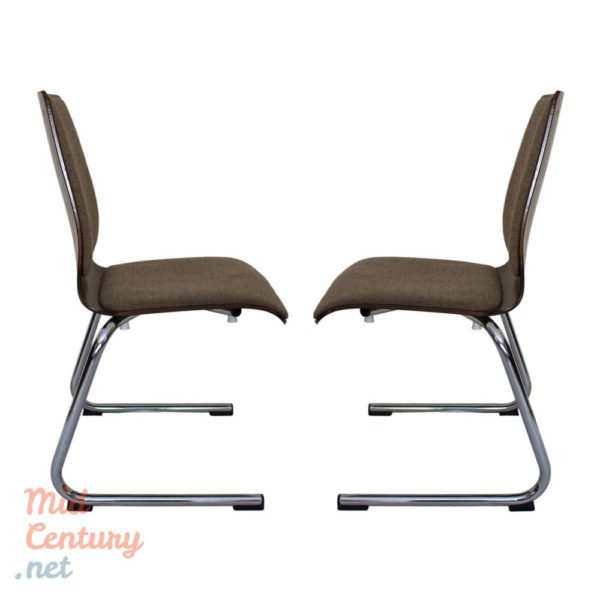 Set of 4 Wiesner Hager chairs, Austria, 1970s