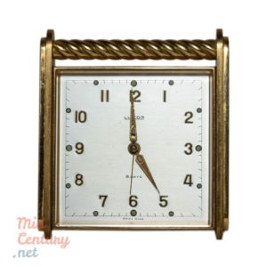 Very rare and spectacular Luxor Swiss table clock