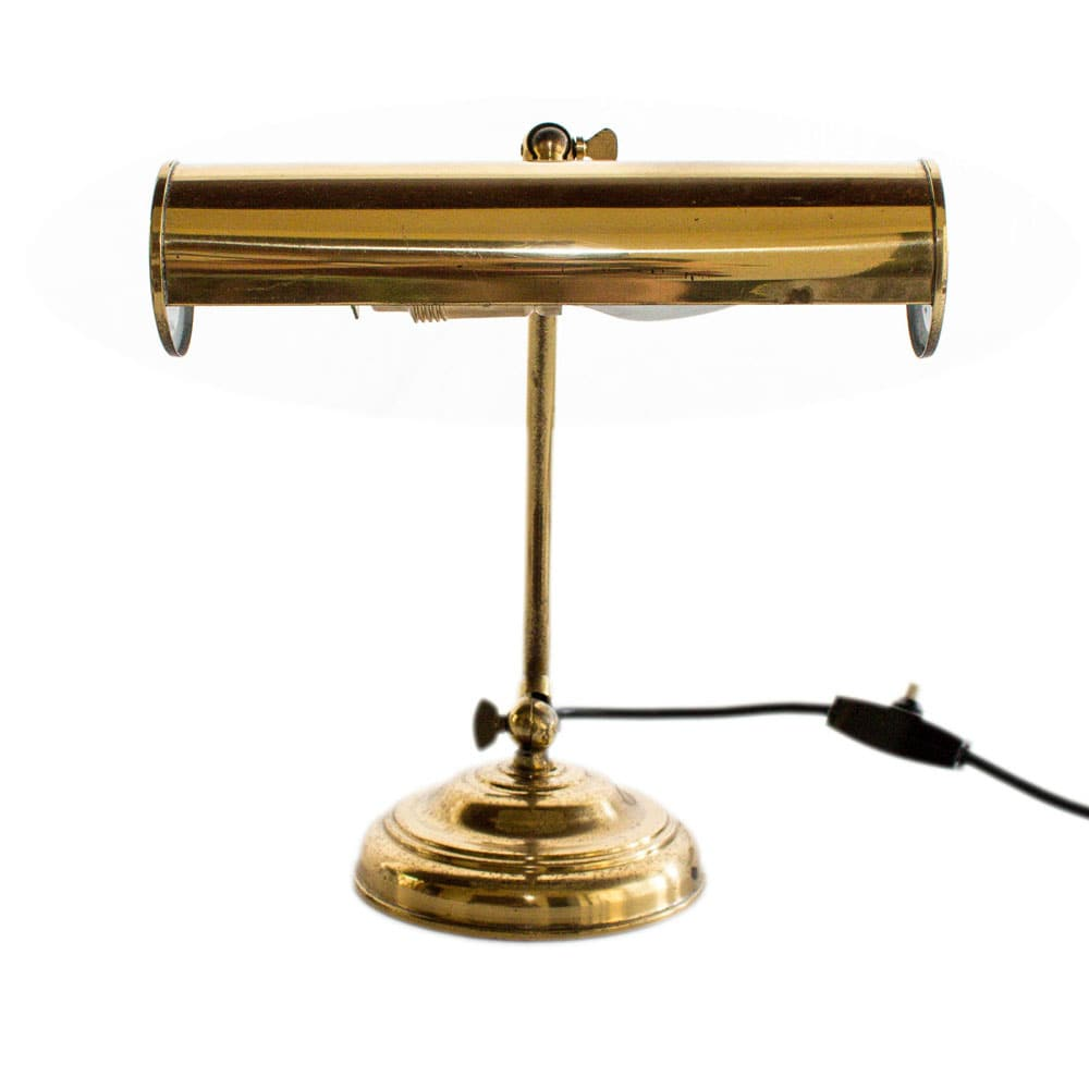 Brass table lamp made in Germany in the 1940s