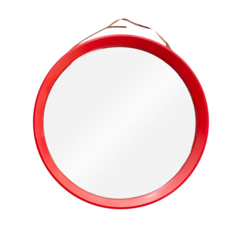 Round wall mirror, Denmark, 1970s