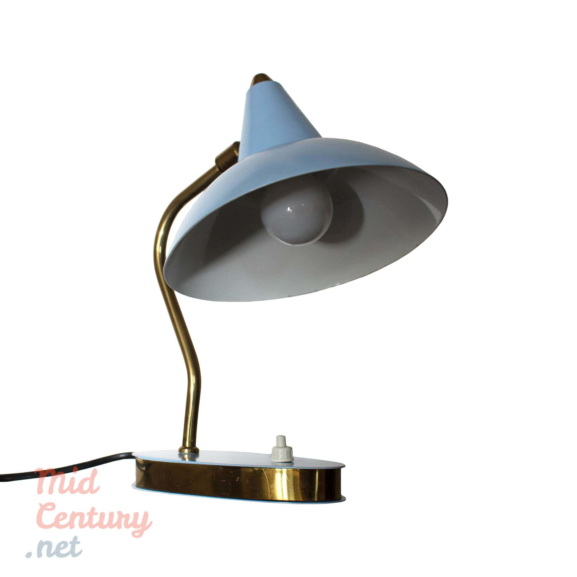 Charming Mid-Century table lamp