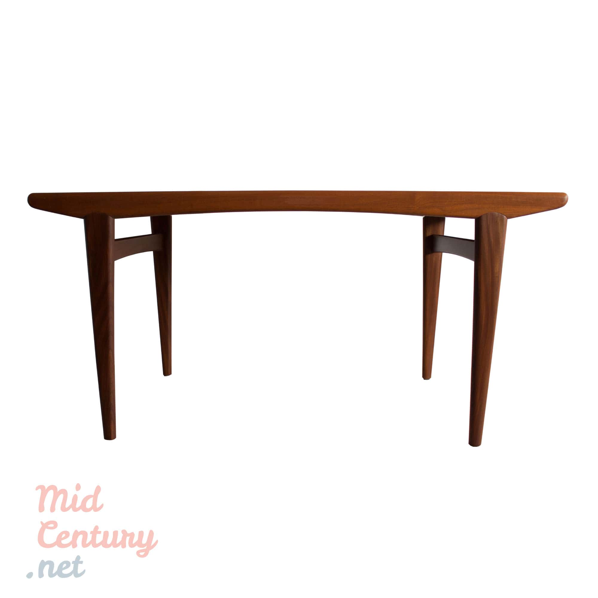 Beautiful extendable teak dining table made in the 1960s