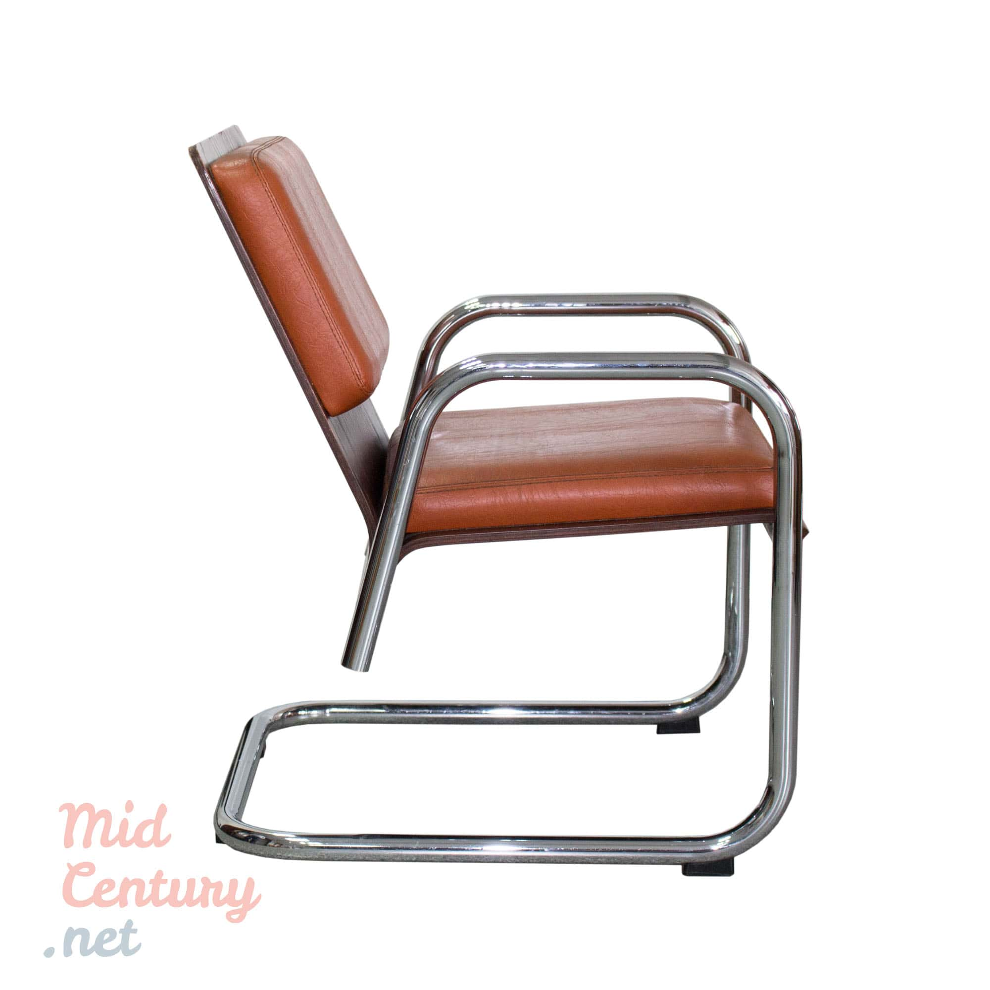 Cantilever armchair made in the 1970s