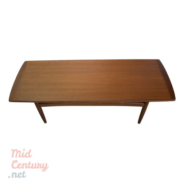 Danish teak coffee table made in the 1960s