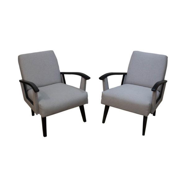 Beautiful Mid-Century armchairs made in Belgium, 1960s