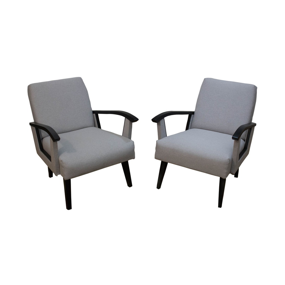 Beautiful Mid-Century armchairs made in Belgium, 1960s