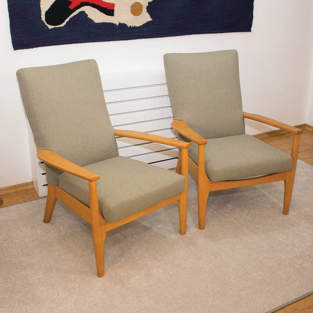 British model PK988/1023 armchairs from Parker Knoll ...