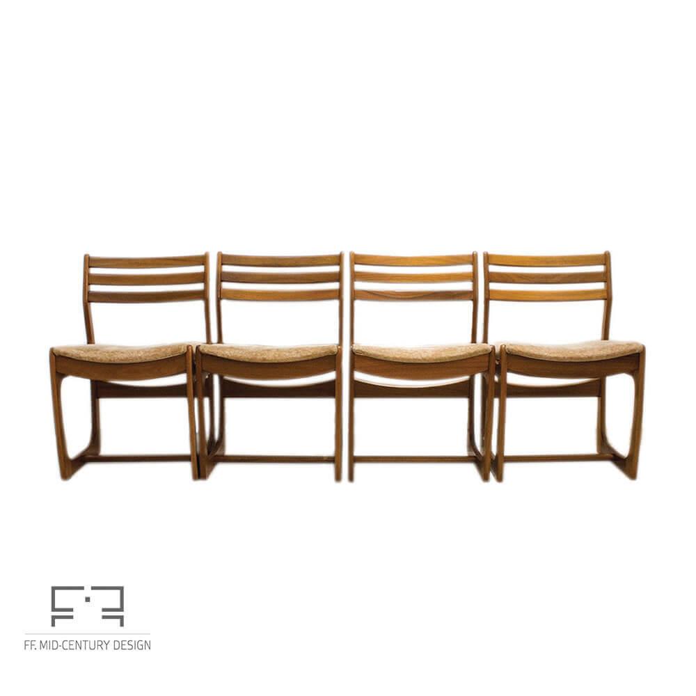 Strange Portwood Dining Chairs Made Of Teak Danish Range 1960S Uk Set Of 4 Mid Century Inzonedesignstudio Interior Chair Design Inzonedesignstudiocom