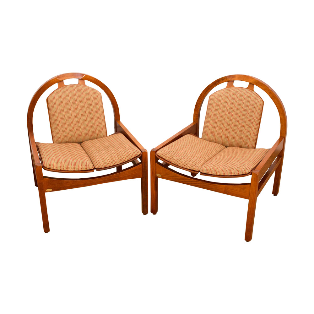 Fantastic Argos Lounge Chairs From Baumann France 1980S Set Of 2 Ibusinesslaw Wood Chair Design Ideas Ibusinesslaworg