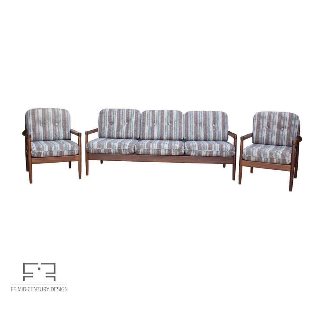 Miraculous Elegant Danish Extendable 3 Seats Sofa In Teak 1970S Mid Century Inzonedesignstudio Interior Chair Design Inzonedesignstudiocom