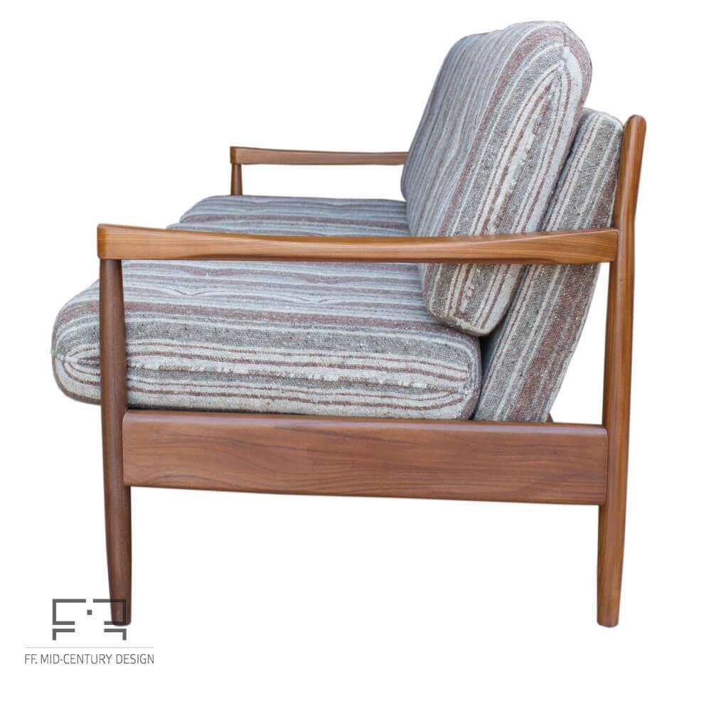 Excellent Elegant Danish Extendable 3 Seats Sofa In Teak 1970S Mid Century Inzonedesignstudio Interior Chair Design Inzonedesignstudiocom